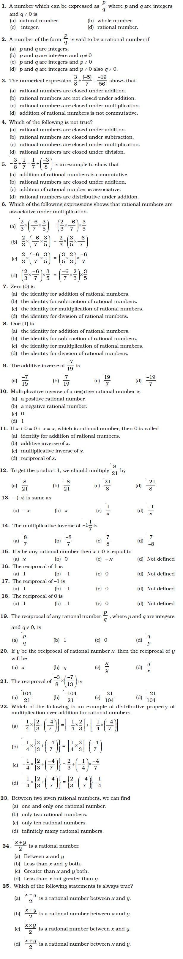 Class 8 Important Questions For Maths Rational Numbers Aglasem Schools Rational Numbers Math Math Formulas [ 3228 x 616 Pixel ]