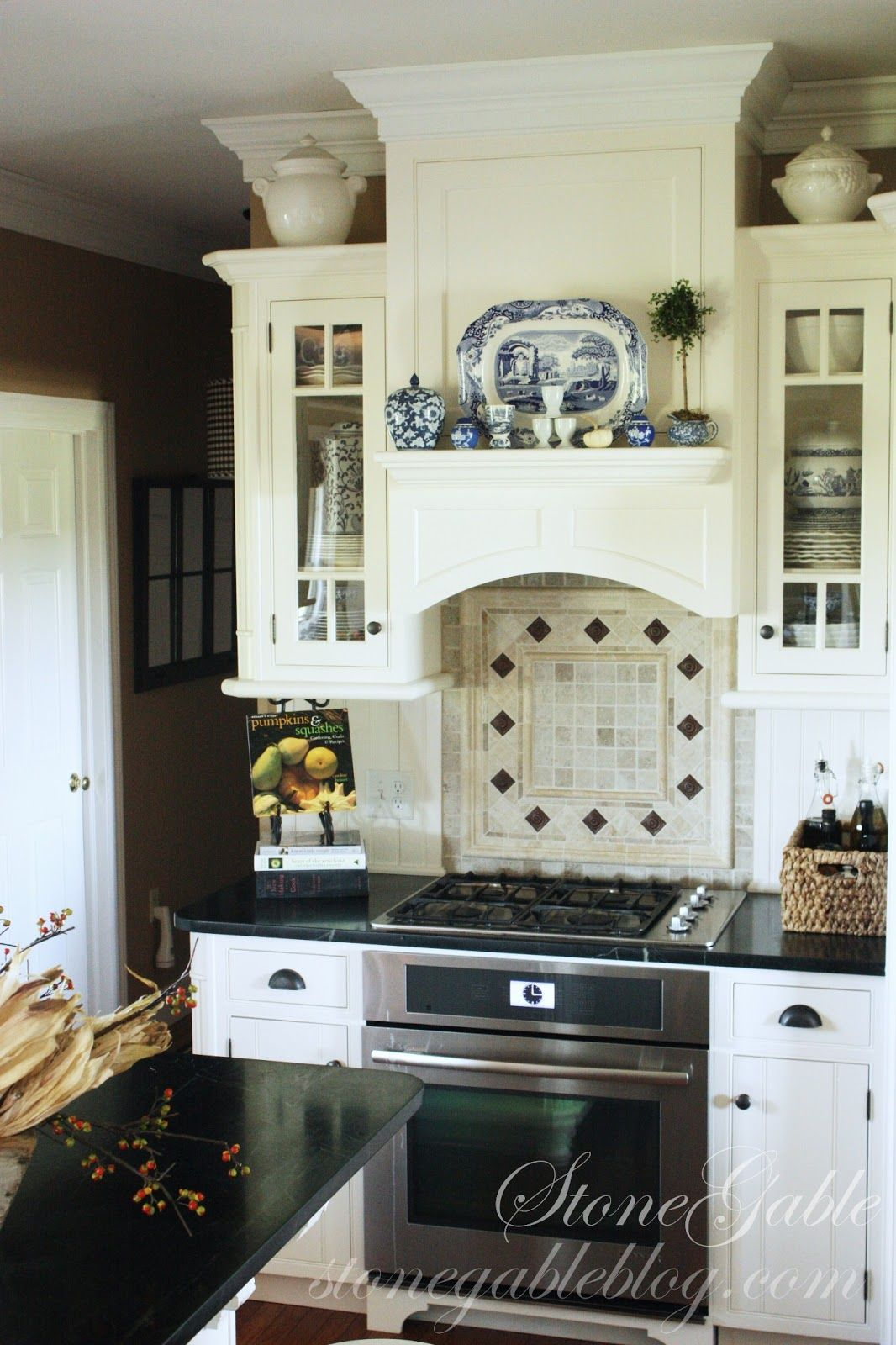 over the stove, high/ low cabinets with great hood | Cottage ... Over The Stove Kitchen Ideas on kitchen bookcase ideas, kitchen wood ideas, kitchen oven ideas, kitchen vent ideas, kitchen heating ideas, kitchen microwave ideas, kitchen range, kitchen cooktop ideas, kitchen spoon ideas, kitchen shelving unit ideas, kitchen phone ideas, kitchen dining set ideas, above cooktop backsplash ideas, kitchen fridge ideas, kitchen carpeting ideas, kitchen canister set ideas, microwave oven ideas, kitchen nook area ideas, kitchen breakfast counter ideas, kitchen couch ideas,