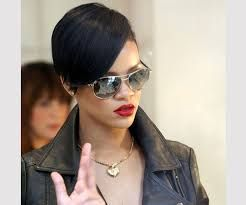 Image Result For Rihanna Short Hair Back View
