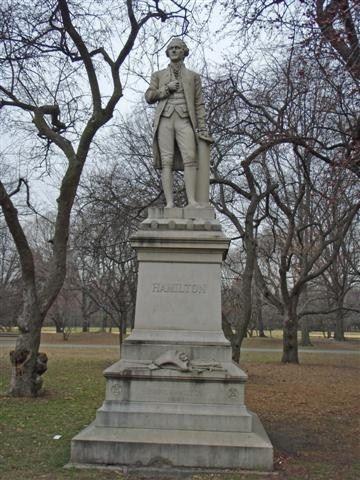 Alexander Hamilton Statue Central Park Www Revwill Com With