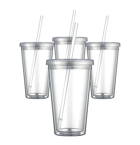 Awesome Crafting Blanks You Can Get On Amazon Prime Acrylic Cups Www Thepinningmama Com Acrylic Tumblers Tumbler With Straw Acrylic Cups