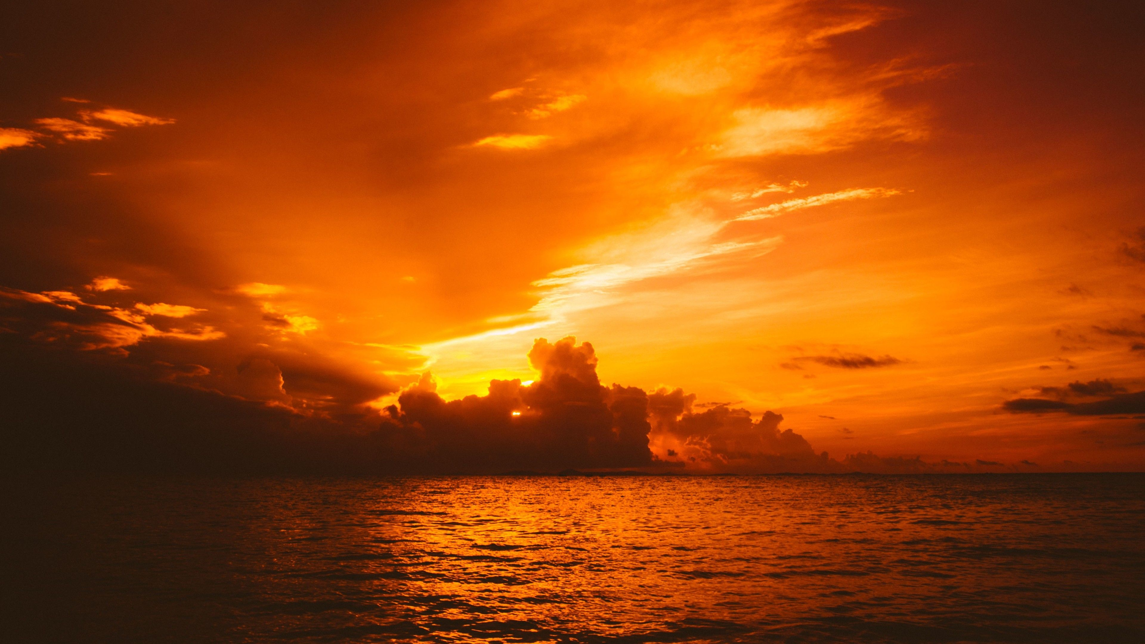 Sun In Clouds Sea Nature 4k Sunset Wallpapers Sunrise Wallpapers Sea Wallpapers Nature Wallpapers Hd Wa Sunrise Wallpaper Sunset Wallpaper Nature Wallpaper