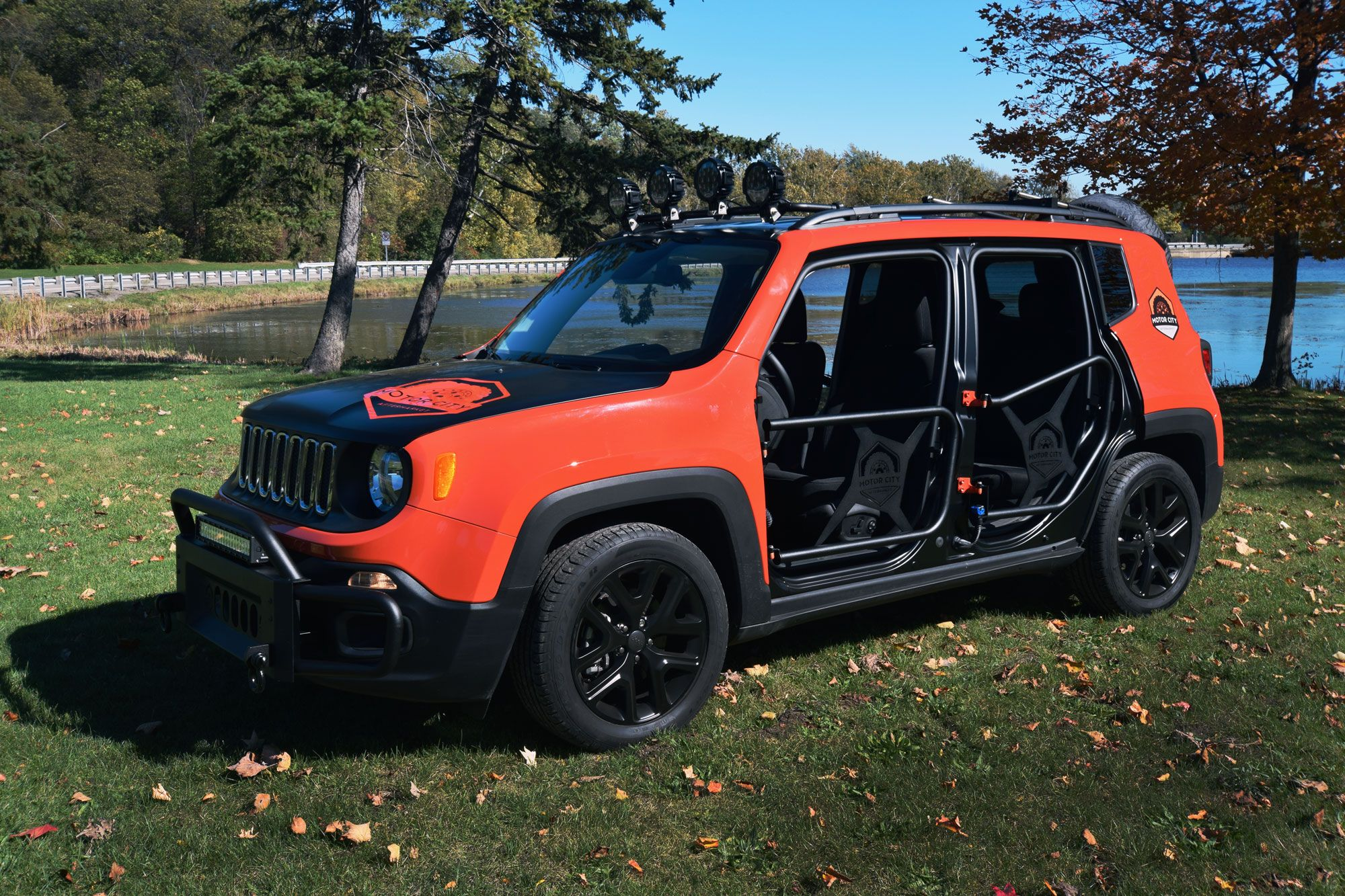 Sema Sneak Peek New Jeep Renegade Accessories Motor City Aftermarket Jeep Renegade Jeep Trailhawk Jeep Renegade Trailhawk