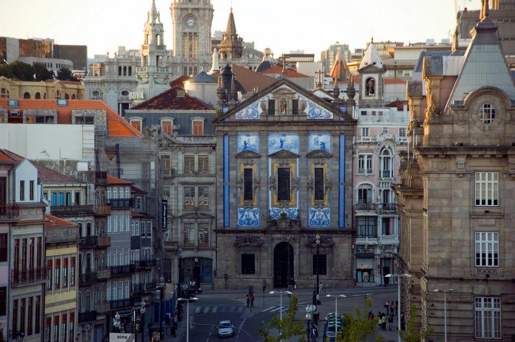 Centro histórico do Porto from Terreiro da Sé, Porto, Portugal