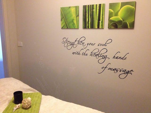 D co pi ce bien tre citation sur le mur d coration for Salle bien etre