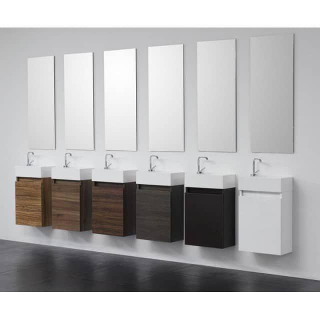 Die passende Armatur finden Sie hierGäste-WC Badmöbel Waschbecken - badezimmer waschbecken mit unterschrank