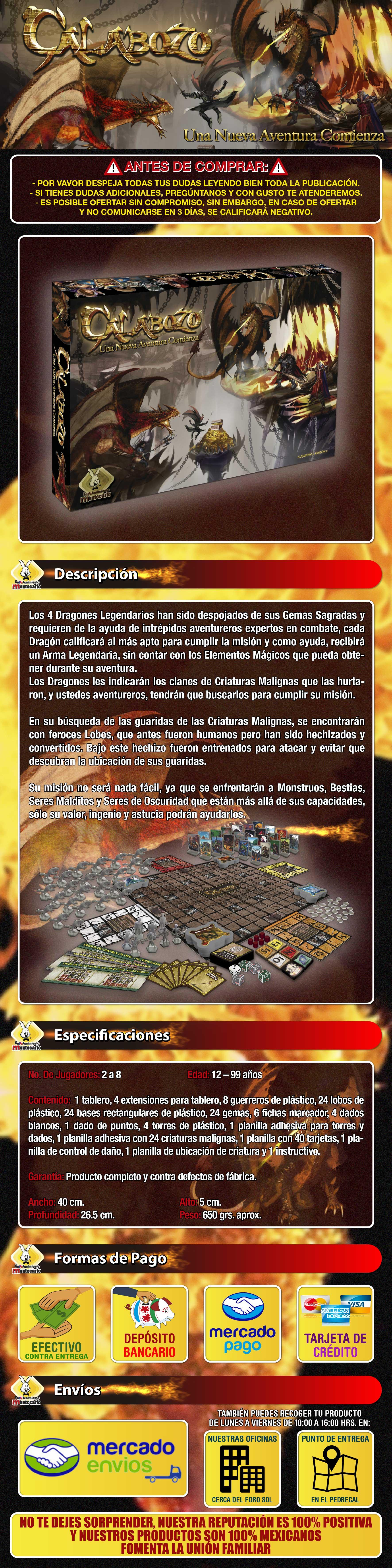 Calabozo: Una Nueva Aventura Comienza de Montecarlo