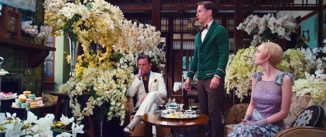 Jay, Nick & Daisy have tea Screenshot from the Great ...