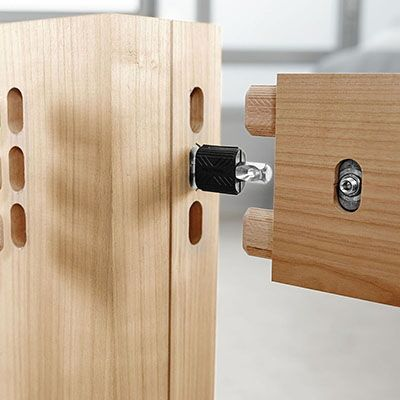 More Knockdown Fasteners This Time From Festool Diy Furniture Wood Joints Festool