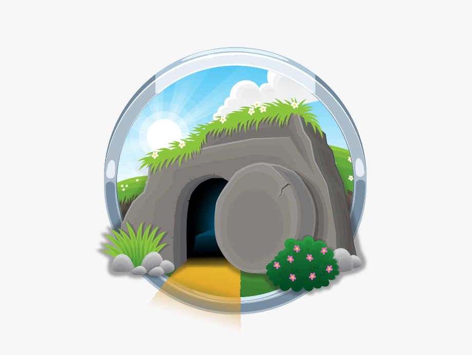 Empty Tomb Kids Google Search Bible Apps Bible Illustrations Vector Free