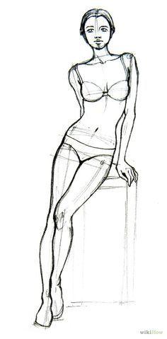 draw basic human figures artist