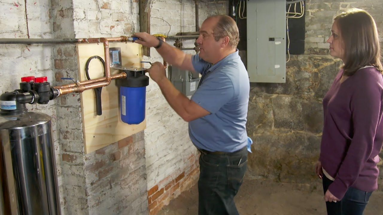 How to Install a Whole House Water Filter Whole house
