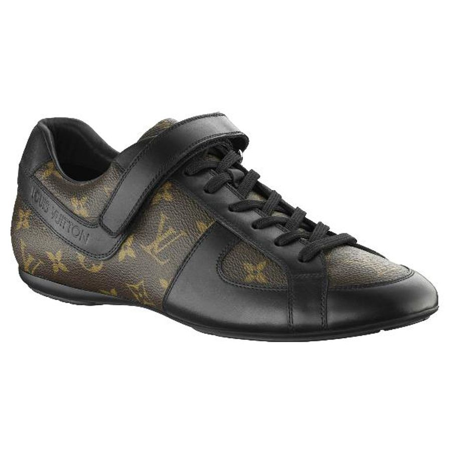 ac52cbce2f0a5 Louis Vuitton Globe Trotter Sneaker In Monogram Macassar Canvas.Please  click picture to buy and get more detail.