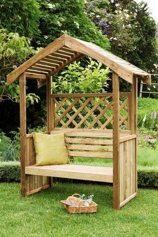 Salisbury Arbour From Next Wooden Garden Backyard Garden Design