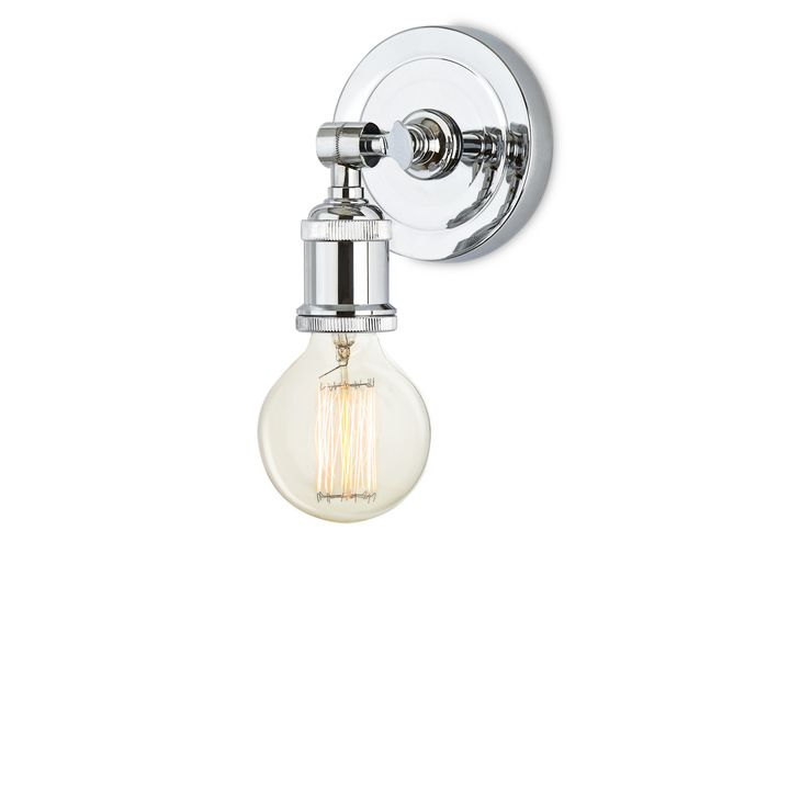 Alton Wall Sconce, Chrome   Sconces, Wall sconces, Chrome on Decorative Wall Sconces Candle Holders Chrome Nickel id=71664