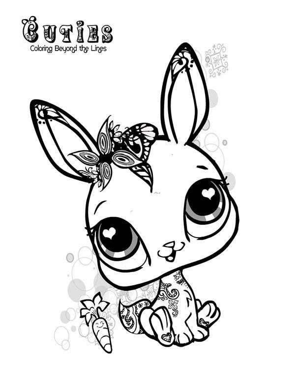 Little Pet Shop Buttercream Sunday Coloring Pages