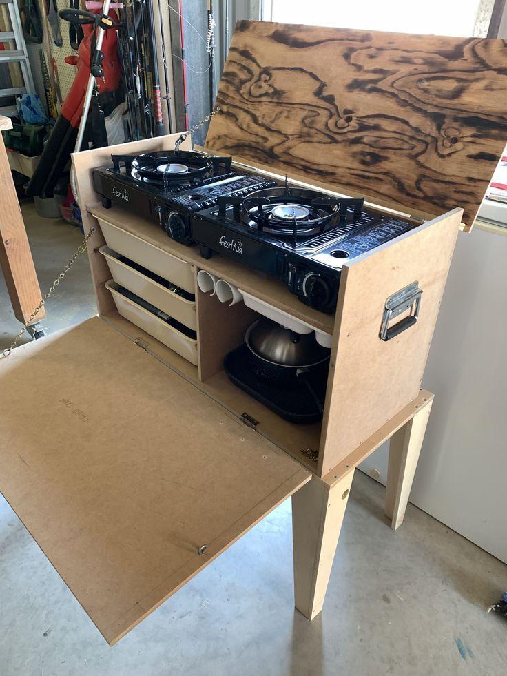 Kitchen Chuck Box : kitchen, chuck, Chuck, Camping, Essentials--, #chuck, Boîte, Mandrin, Kitchen,