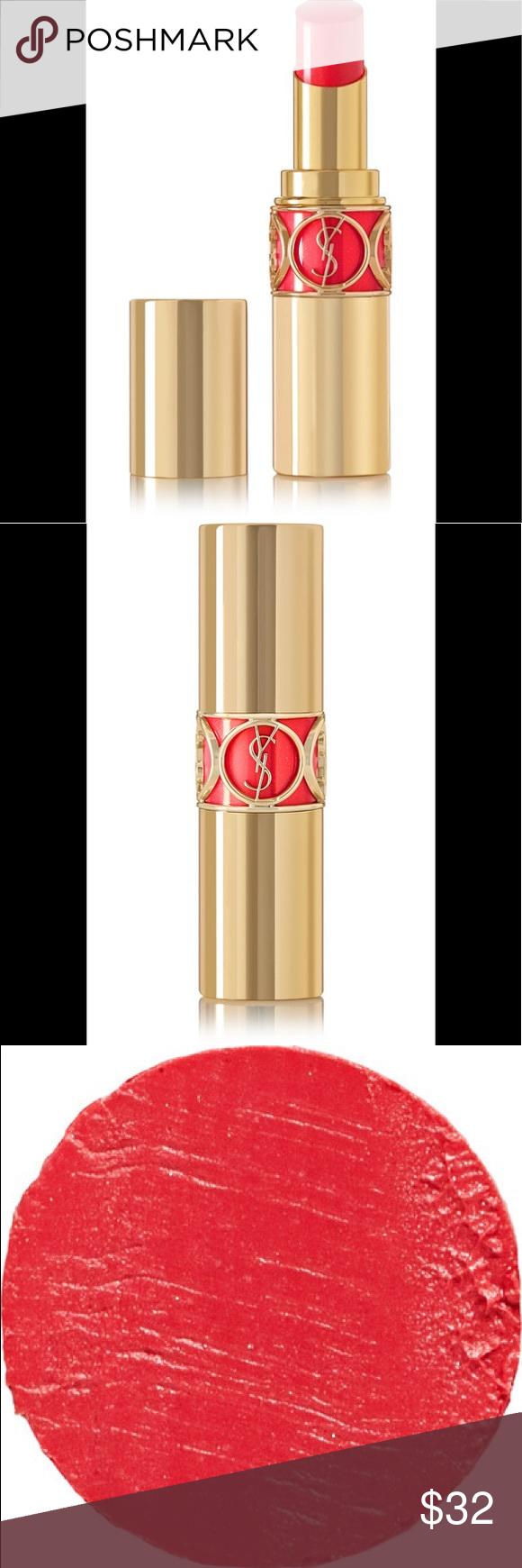 Photo of YSL Rouge Volupté Shine Lipstick #57 Rouge Spencer YSL Rouge Volupté Shine Lip…