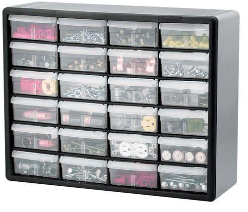 24 Large Drawer Cabinet At Menards Plastic Storage Cabinets