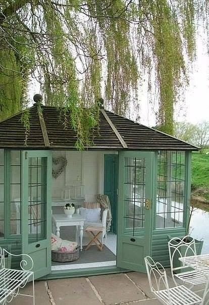 Pin by Theresa Myers on Shed Chic Pinterest House, She sheds and