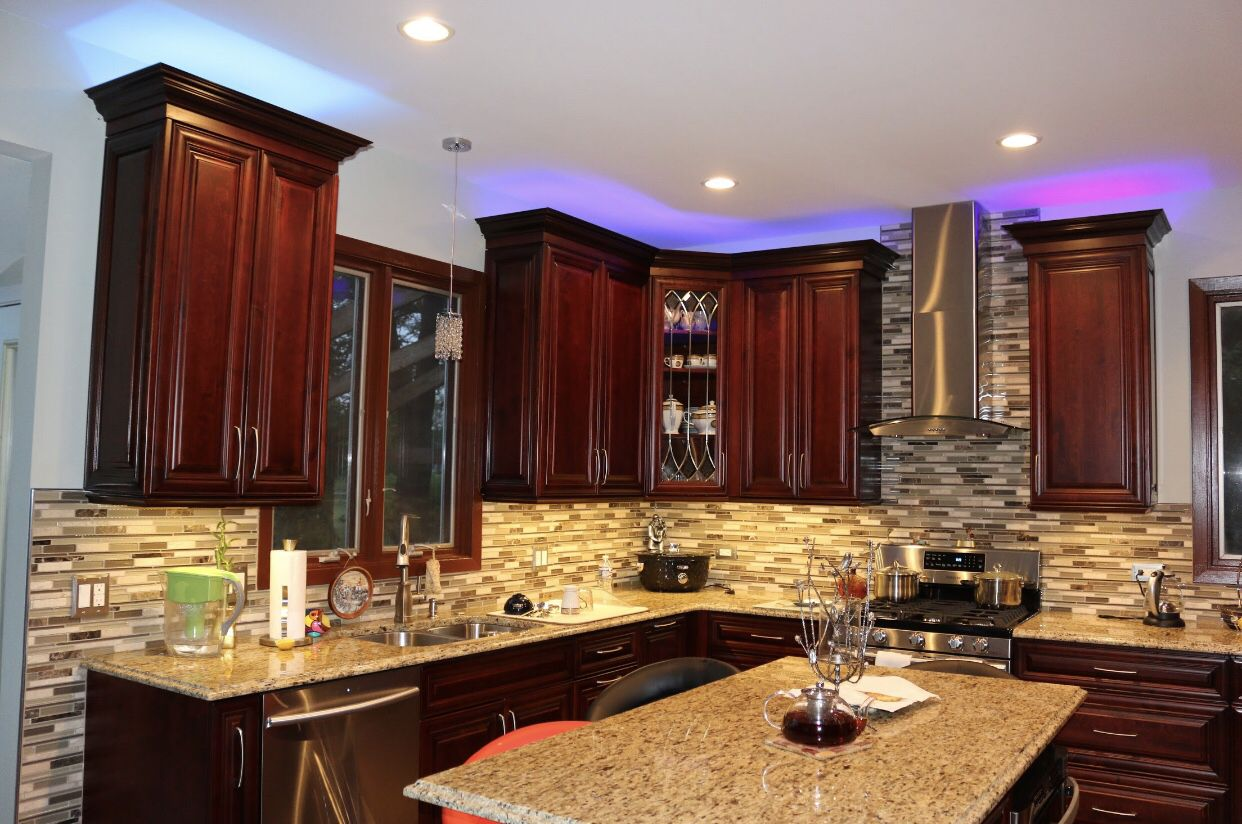 Leawood Lifestyle Magazine Features Our Project A Touch Of Classic Elegance Interior Design Kitchen Refinish Kitchen Cabinets Refinishing Cabinets