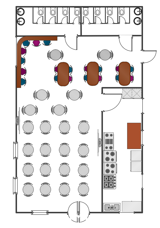 Cafe Floor Plans Professional Building Drawing Cafe Floor Plan Restaurant Plan Restaurant Floor Plan