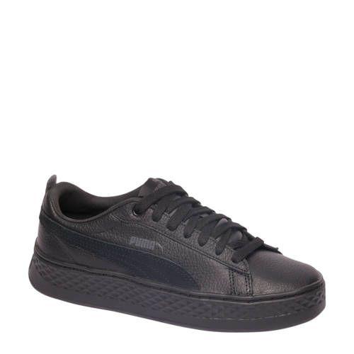 Puma Smash Platform sneakers wit - Zwart en Nieuwe mode