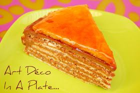 Rosa's Yummy Yums: DOBOS TORTE - THE DARING BAKERS #czechrecipes