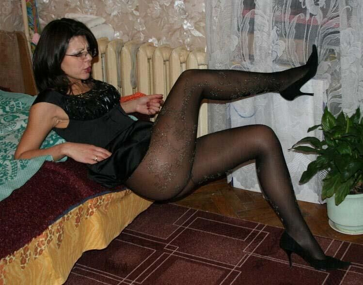 Loved moms pantyhose bondage