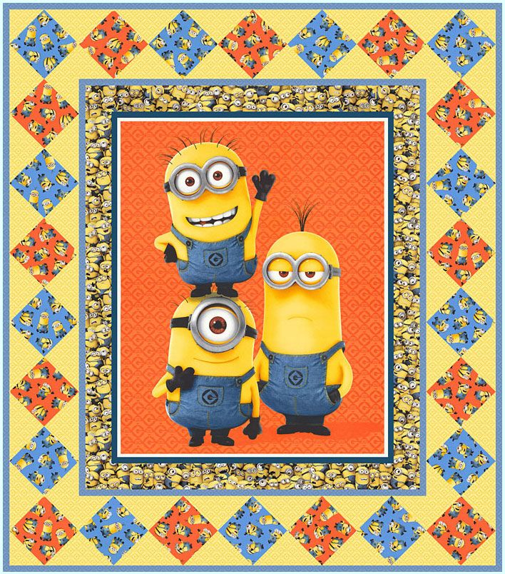 Minion Mania FREE Pattern - personalize your own at http://www ...