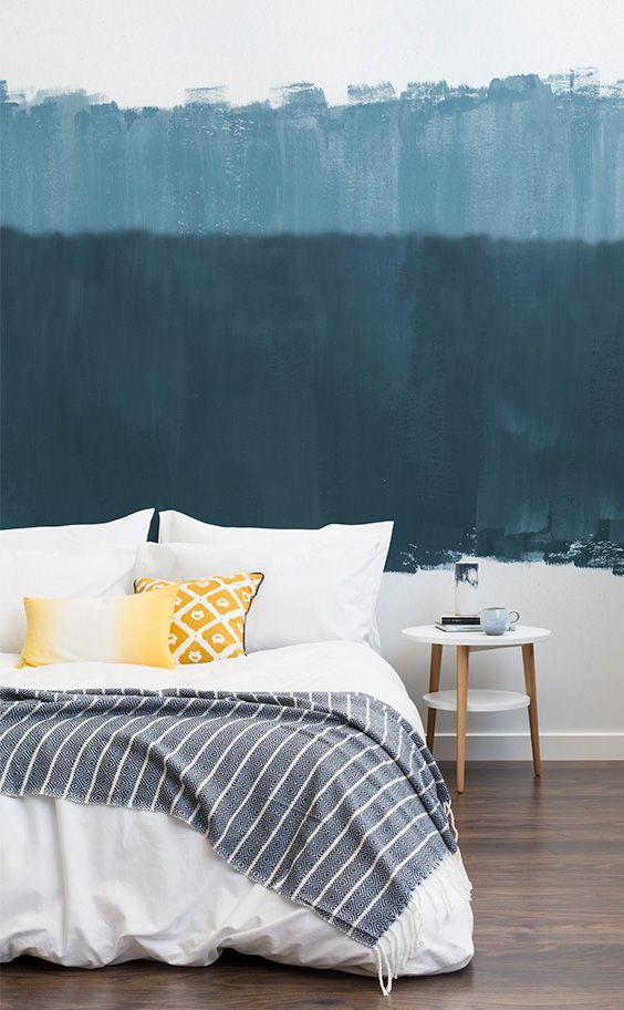 Altitude Blue Wallpaper Mural Hovia Serene Bedroom Mural Wallpaper Blue Wallpapers Blue wallpaper for bedroom