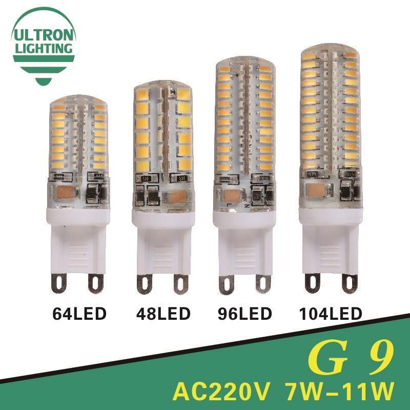 G9 Led Light Bulbs 220v 7w 9w 10w 11w Corn Bulb 360 Degrees Smd3014 2835 Lamp High Quality Chandelier Light Replace Halogen Lamp Lampes Hautes Bulbes Led