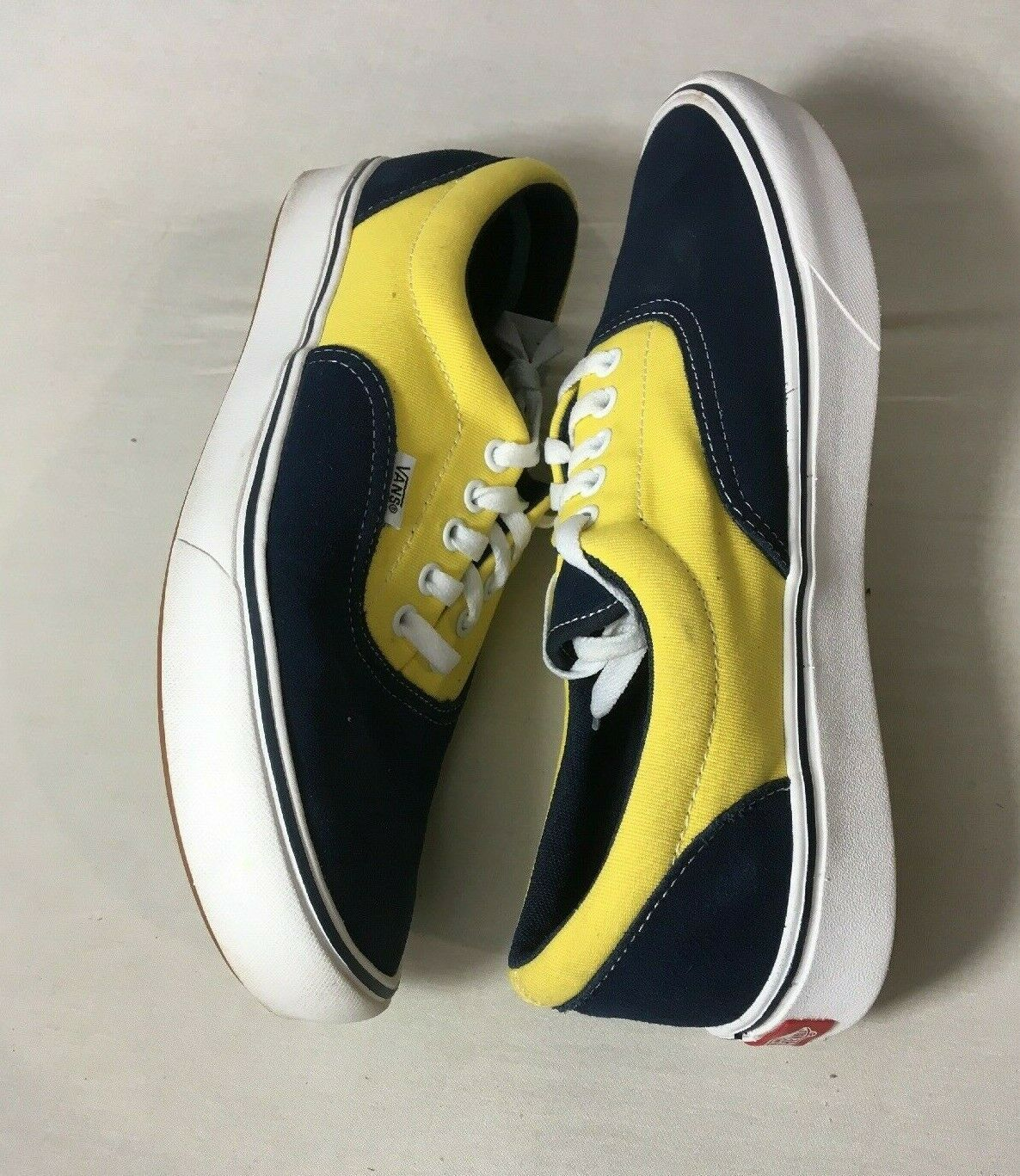 Mens Vans Authentic 500664 M4 Navy Yellow Size 11 150