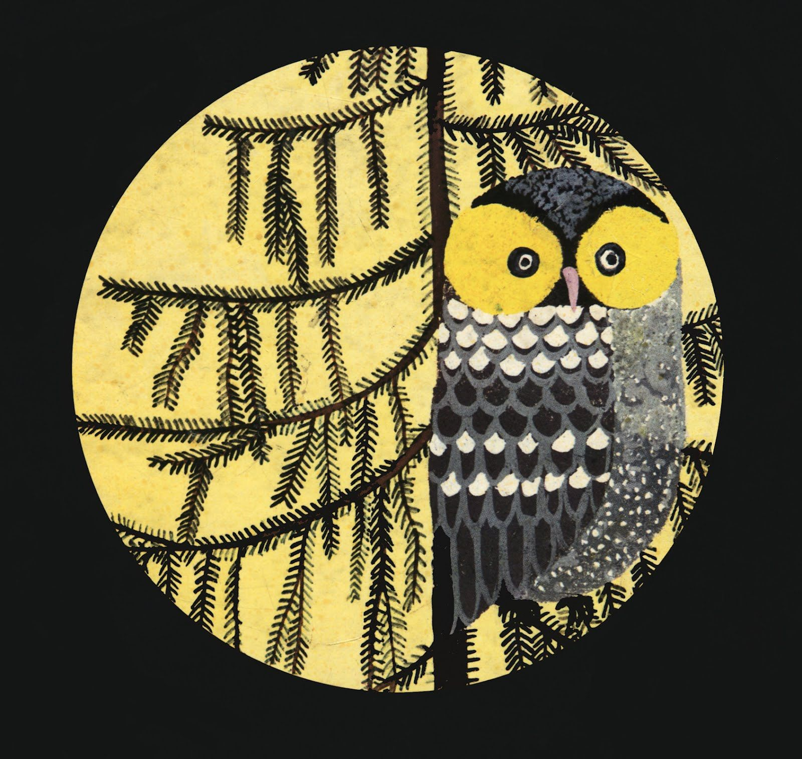 Chaudron Moon Stories Illustrations By Uta Glauber Owl Painting Owl Art Owl Collection