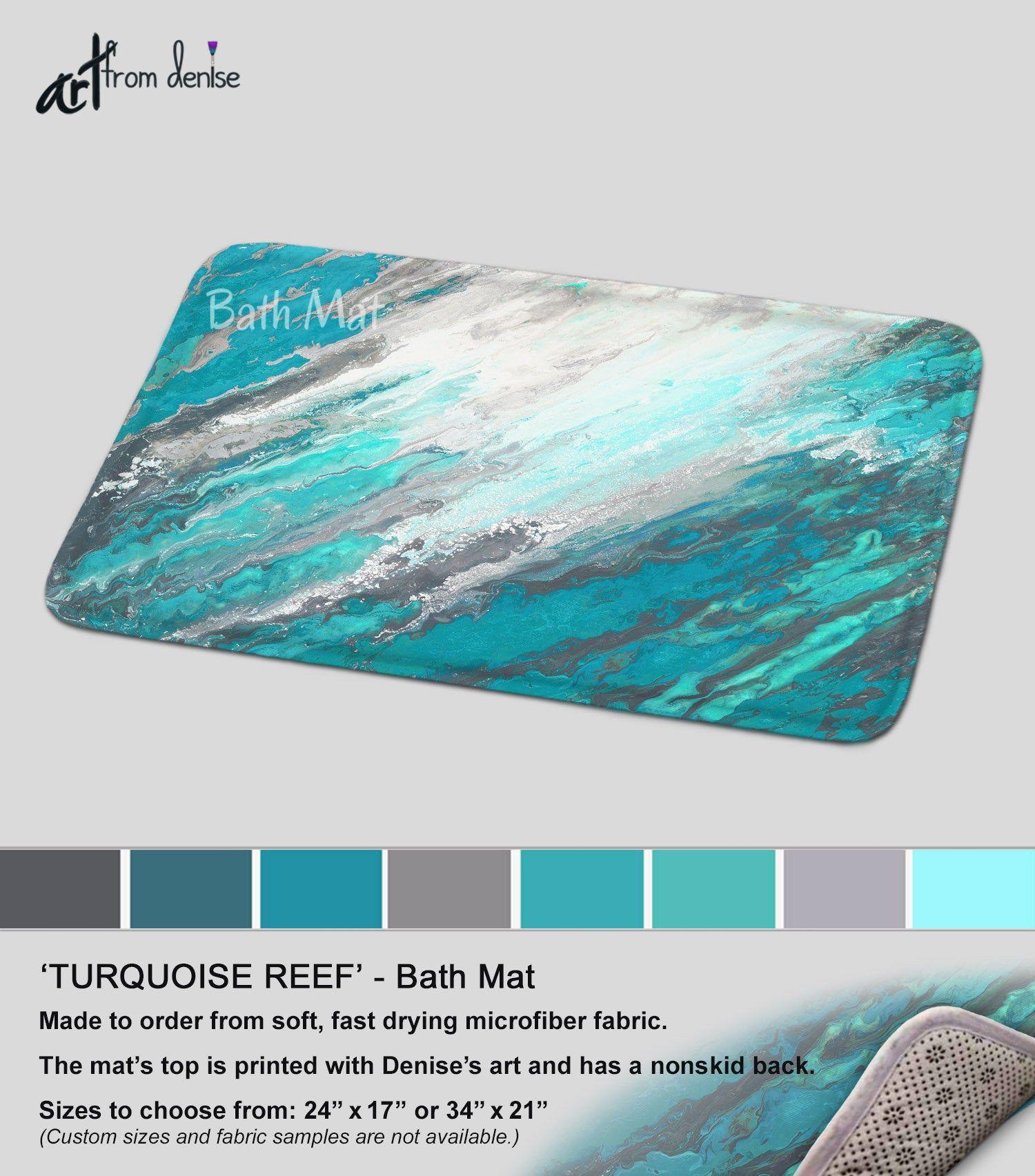 Gray And Teal Bath Mat Modern Bathroom Sets Rug Mats And Or