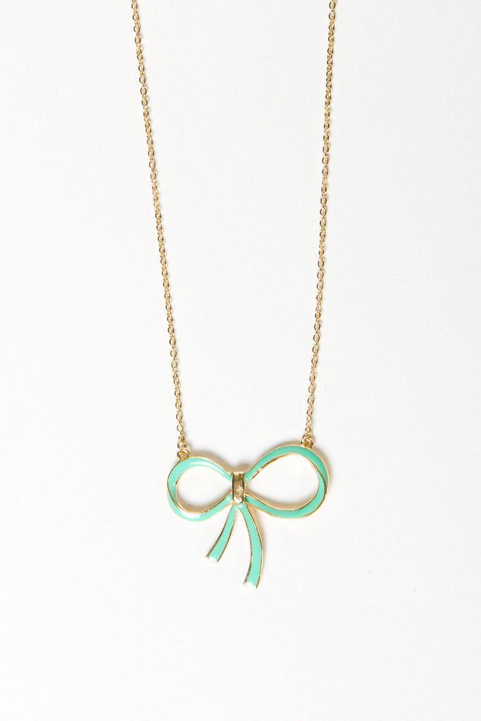 sweet mint bow