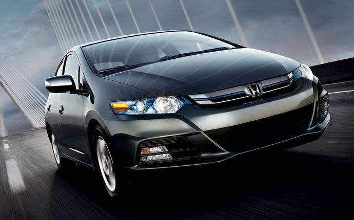 Exterior Photo Of 2014 Honda Insight