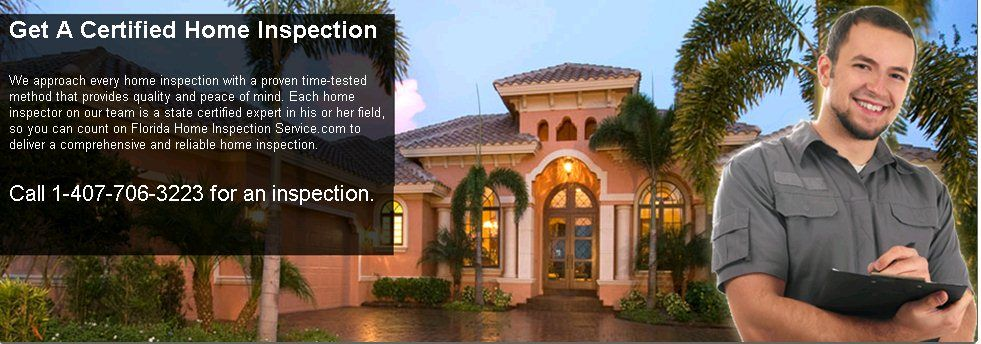 Call a certified home inspection in Florida. Our home