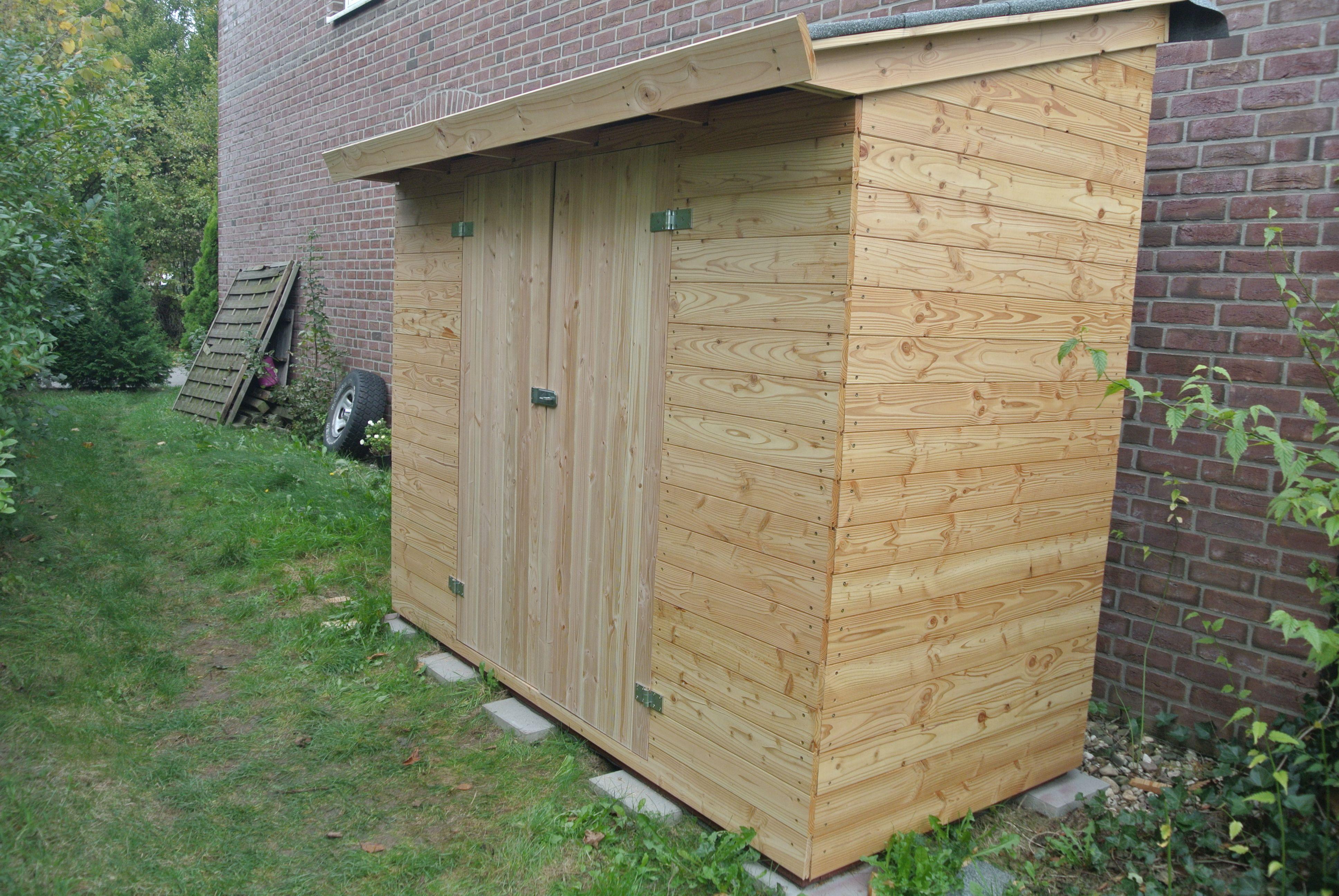 Lean To Shed Geräteschuppen bauen, Anbau gartenhaus