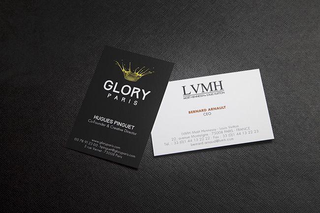 Businesscard Glory Advertising CartesDeVisites Lvmh Ceo Smart