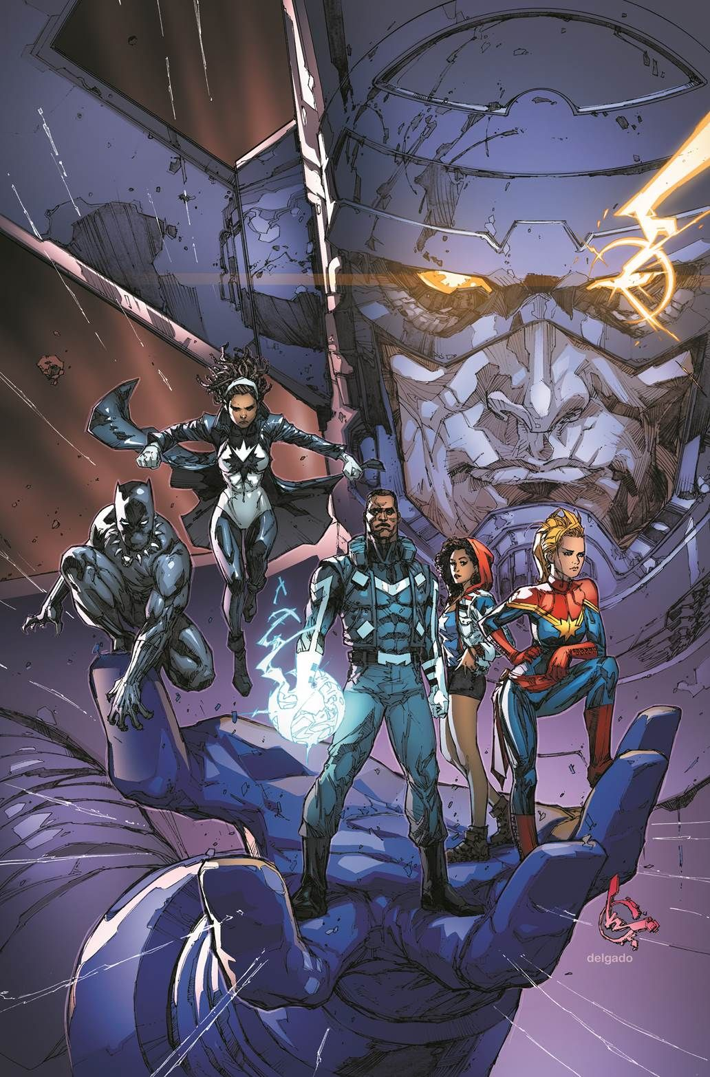 Ultimates #1, Kenneth Rocafort