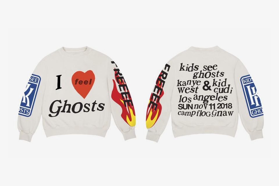 Kanye West Kid Cudi Drop New Kids See Ghosts Merch Kanye West Kids Kanye Merch Kid Cudi