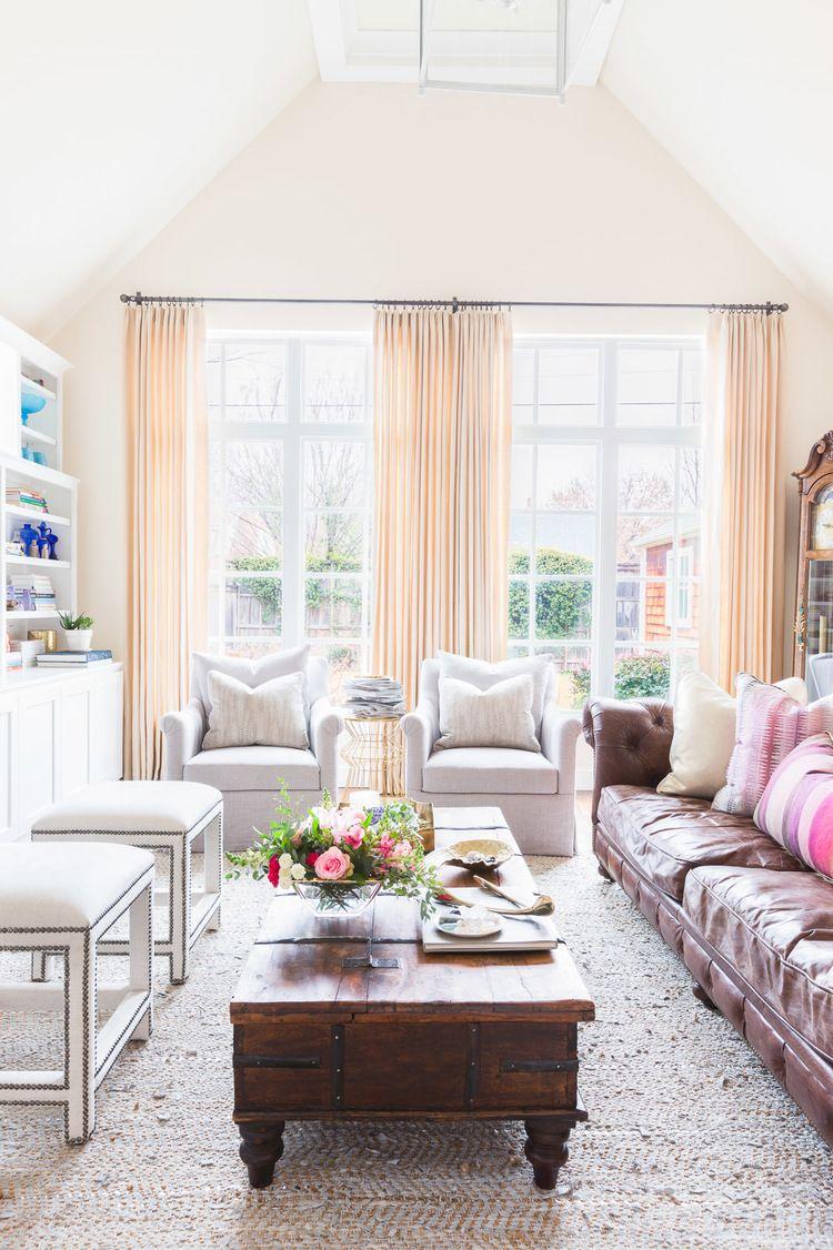 Eclectic living room. Rue Magazine. Design // Austin Bean Design ...