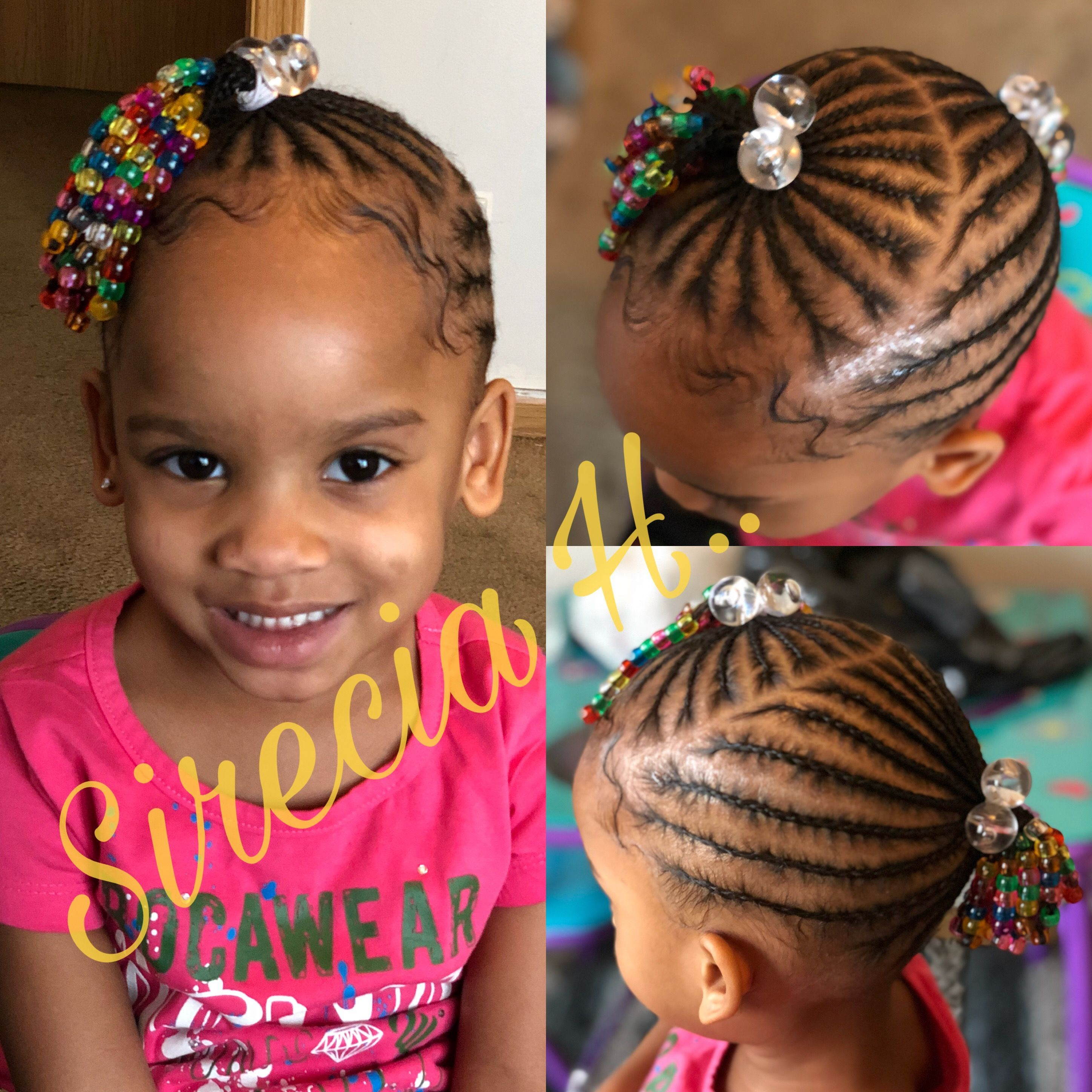 Cornrow Hairstyles For Toddlers With Short Hair In 2020 Toddler