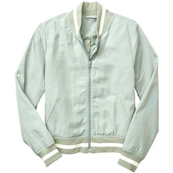 Gap Women Varsity Bomber Jacket 60 Liked On Polyvore Featuring