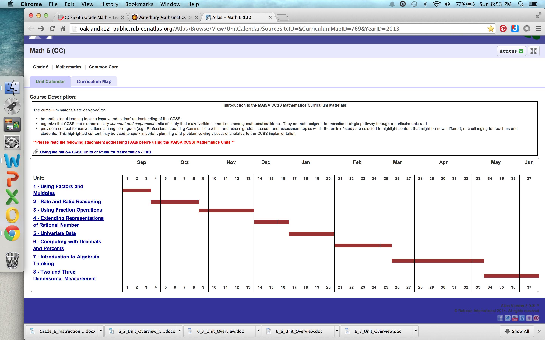 6th Grade Math Units with links: http://oaklandk12-public ...