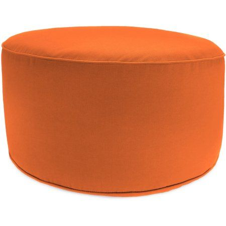 Prime Jordan Manufacturing Outdoor Patio Round Pouf Ottoman Squirreltailoven Fun Painted Chair Ideas Images Squirreltailovenorg