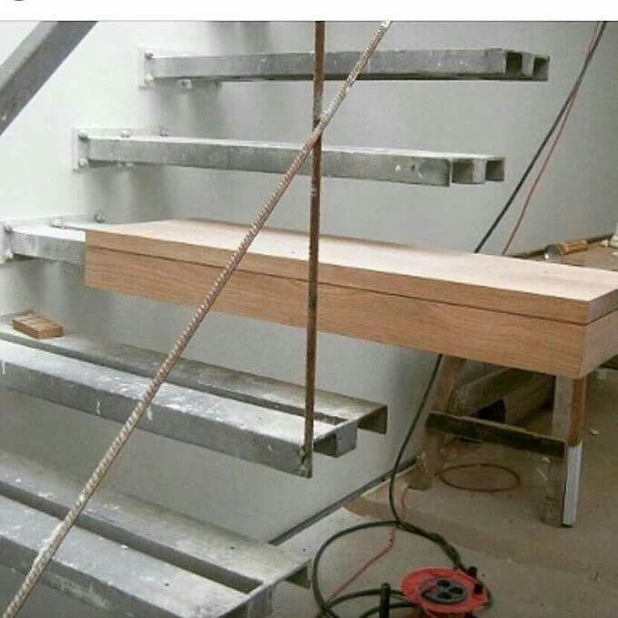 Escalera Construccion Escaleras Para La Casa En 2019