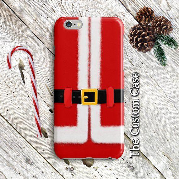 hot sale online ec248 9d5f8 Santa Claus Phone Case, Christmas Case, Noel, Winter Iphone Case ...