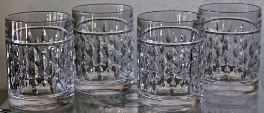 Ralph Lauren Aston Double Old Fashioned Glasses Set Of 4 Crystal 11 8oz New Crystals Crystals In The Home Old Fashioned